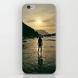 Suntet at the beach iPhone Skin
