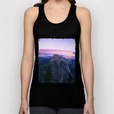 The Mountains and Purple Clouds Unisex Tank Top