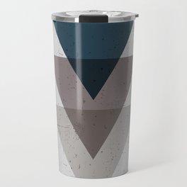 Geometric Trinangle Tangle Travel Mug