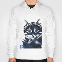 kitty Hoodies featuring kitty by Cat Milchard