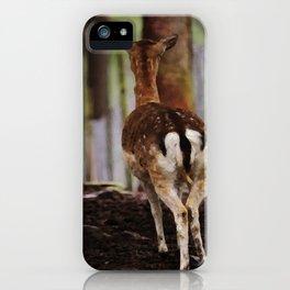 Deer  - JUSTART © iPhone Case