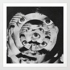 CRAZY: Art Print