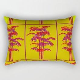 Sunny palms Rectangular Pillow