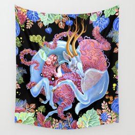 Tiger and Stag Wall Tapestry