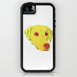 Yellow Labrador iPhone Case
