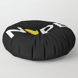 Anti-Trump - Nope Edition Floor Pillow