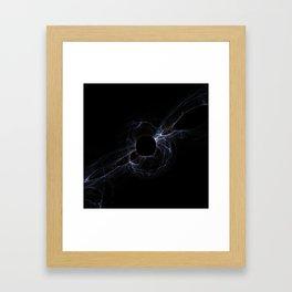 Space river Framed Art Print