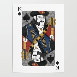 Lemmy - King of Spades Poster