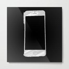 iPhone 5 Wolfram Rule 126 Part 2 Metal Print