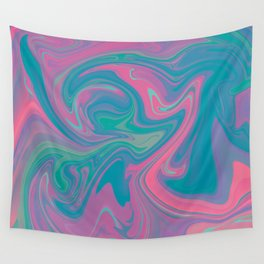 Acid marble dream Wall Tapestry