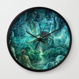 Keeper of your heart Wall Clock