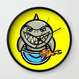 Spike the Shark Wall Clock