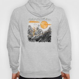 Marble mountains and the fire tree Hoody