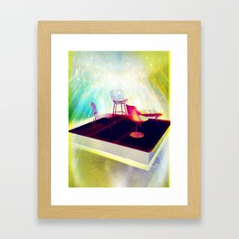 Meet me on the Holodeck Framed Art Print