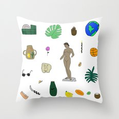 Various Stages  Throw Pillow
