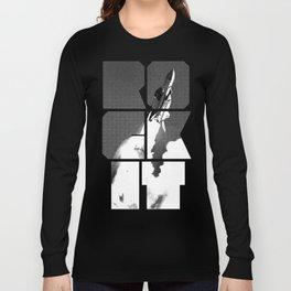 ROCKIT (White on Grey) Long Sleeve T-shirt