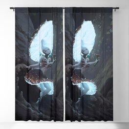 Mushroom Fairy Blackout Curtain