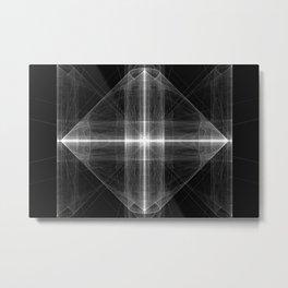 ZoooooZ Field of Ray Metal Print