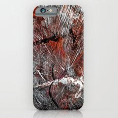 RED ARCHETYPAL STRUCTURES Slim Case iPhone 6s