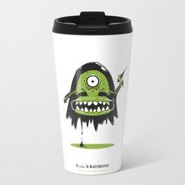 X is for X-Raymond Travel Mug