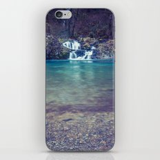 Waterfall Nature Water - Teal Blue Waterfall Cove iPhone & iPod Skin