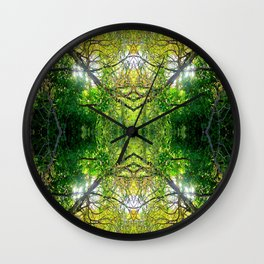 Way In is the Way Out Wall Clock