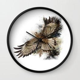 Falcon Flight Wall Clock
