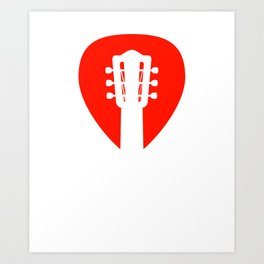 Guitar Player Musician, Guitarist Gift, Bass, Electric design Art Print