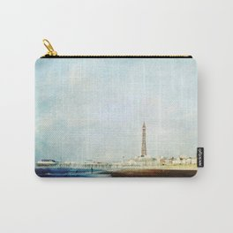 On The Front Textured Fine Art Photograpy Carry-All Pouch