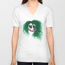 The Joker. Why so serious? Unisex V-Neck