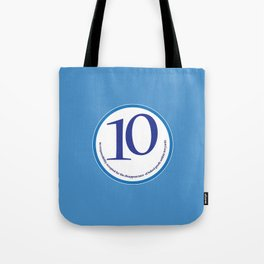 Baked (blue-yards) Tote Bag