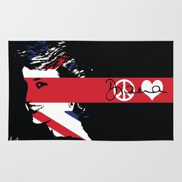 Candle in the wind - Princess Diana Rug