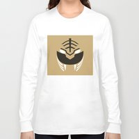 power rangers Long Sleeve T-shirts featuring White Rangers Remix by hellostranger