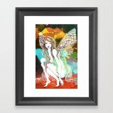 Flight revamped Framed Art Print