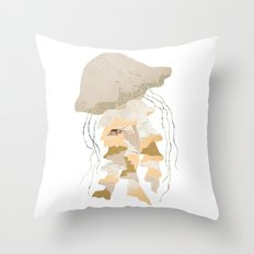 Jelly Paper #1 Throw Pillow