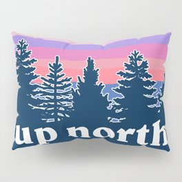 up north, pink hues Pillow Sham
