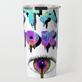 Stay Woke Pastel Travel Mug
