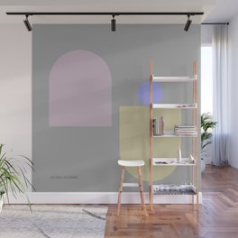 12     181117 Simple Geometry Shapes Wall Mural