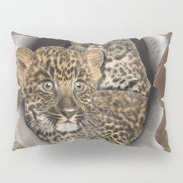Leopard Cubs Pillow Sham