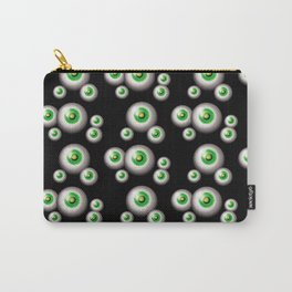 glass eyes - green Carry-All Pouch