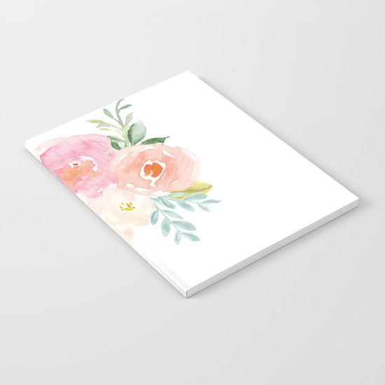 Floral 02 Notebook