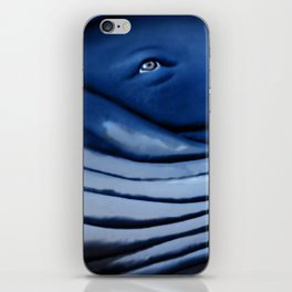 blue giant of the ocean iPhone Skin