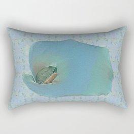 Portrait of a Frog Prince Rectangular Pillow