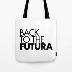 Back to the Futura Tote Bag