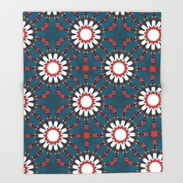 Beautywave Pattern 4 Throw Blanket