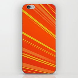 Colour Flash Red iPhone Skin