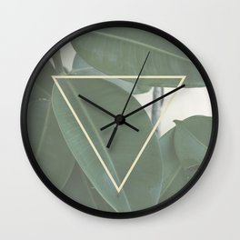 ficus nature Wall Clock
