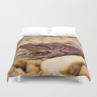 frog Duvet Covers featuring Frog by MehrFarbeimLeben