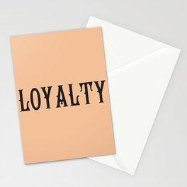 LOYALTY Stationery Cards