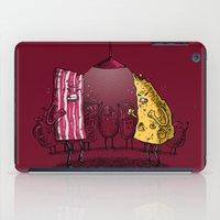the breakfast club iPad Cases featuring Breakfast Club by Salih Gonenli